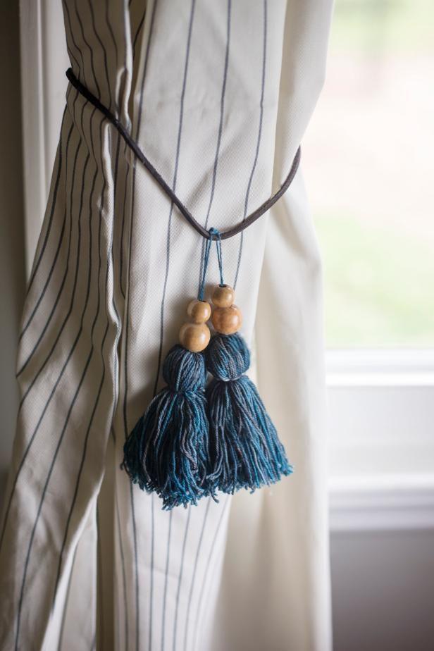 How To Make Tassel Curtain Tie Backs Tassel Curtains Curtain