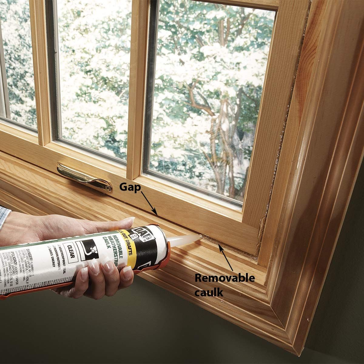 How To Seal Leaky Windows Without That Hideous Plastic Film Vinyl Replacement Windows Window Insulation Caulking Windows