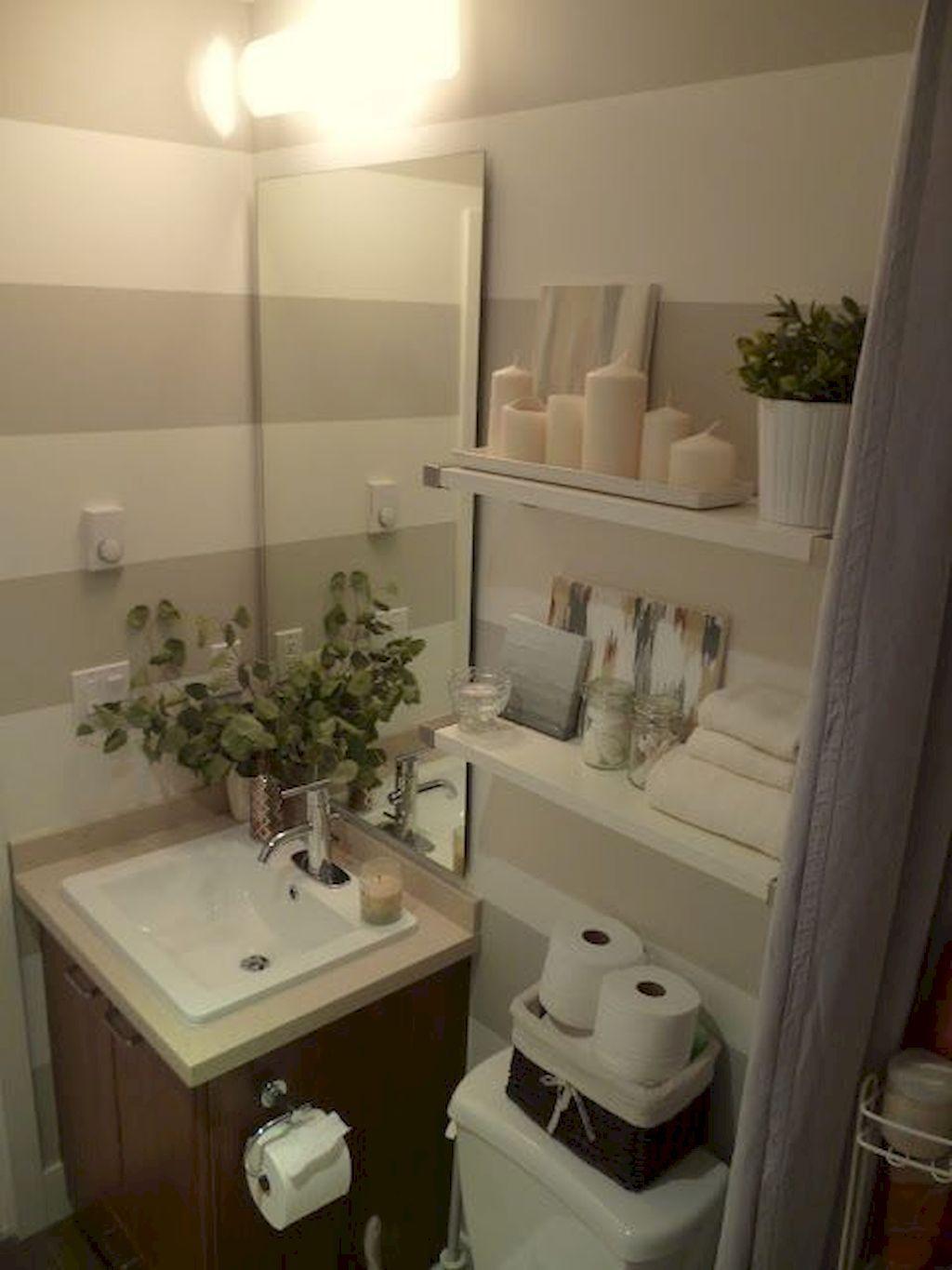 Nice 75 Tiny Apartment Bathroom Decoration Ideas https://quitdecor ...