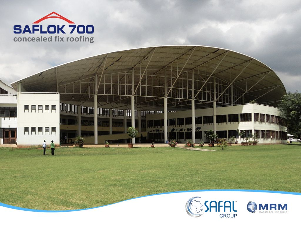 Saflok 700 Concealed Fix Metal Roofing Profile A Product Of Mabati Rolling Mills A Member Of The Safal Group Roofing Roofing Sheets Roof
