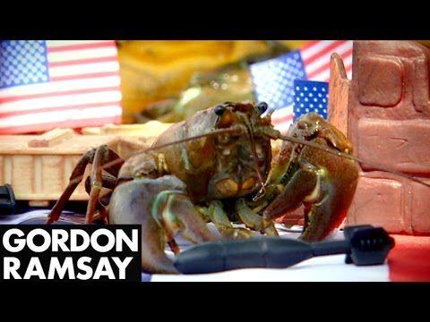 Freshly Caught Crayfish Salad - Gordon Ramsay - YouTube
