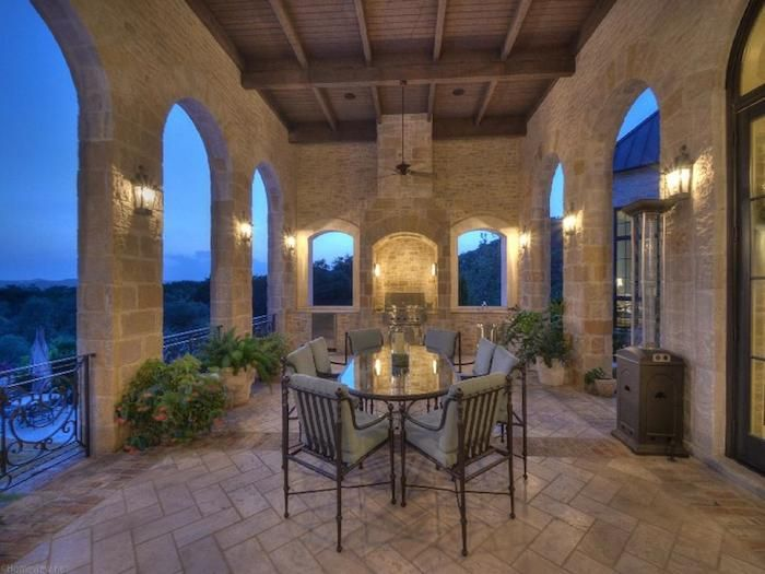 Texas Hill Country Manor 6 650 000 Tuscan House