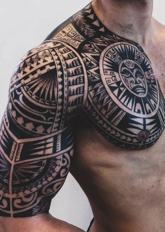Pin En Tatuagem Maori Braco