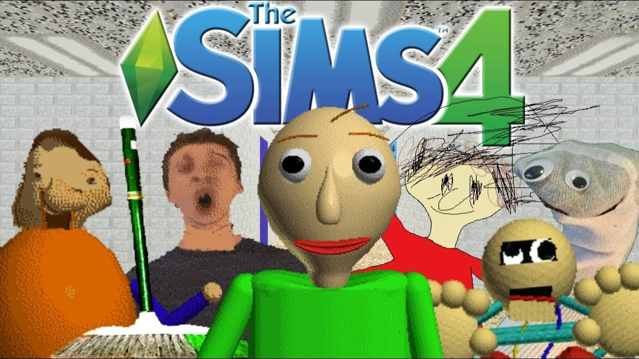 The Sims 4 Baldi S Basics In Education And Learning Cas School