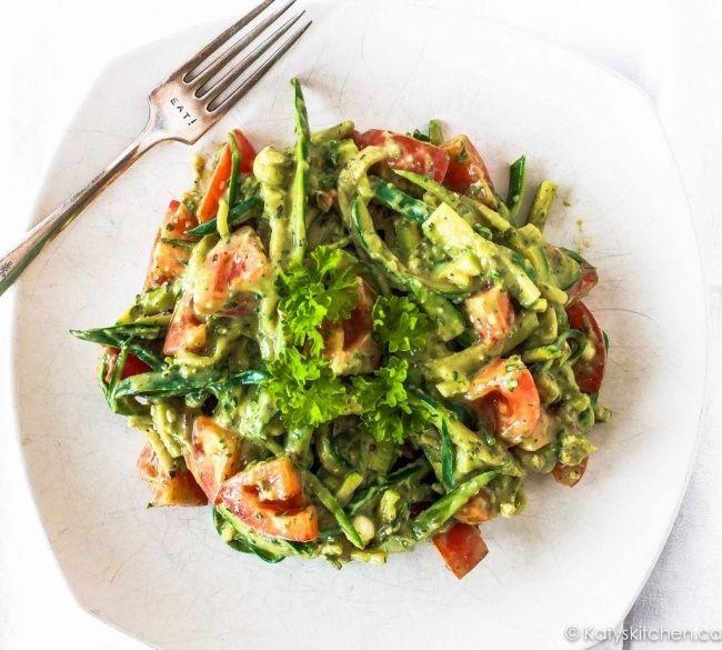 12 вкуснейших салатов для этого лета   Спагетти с ...