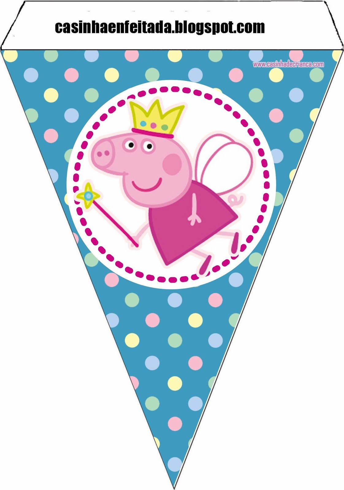 Kit Festa Peppa Pig Para Imprimir Gratis Em 2020 Festa Peppa Pig