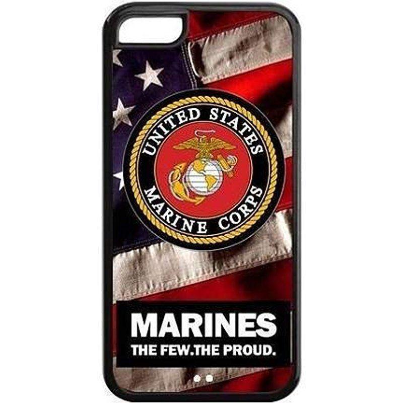 Hard plastic case us marine corps new iphone 8 plus case