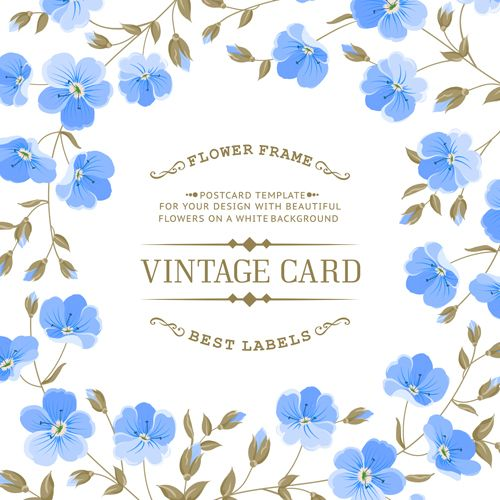 vintage card vector free download - Google Search ...