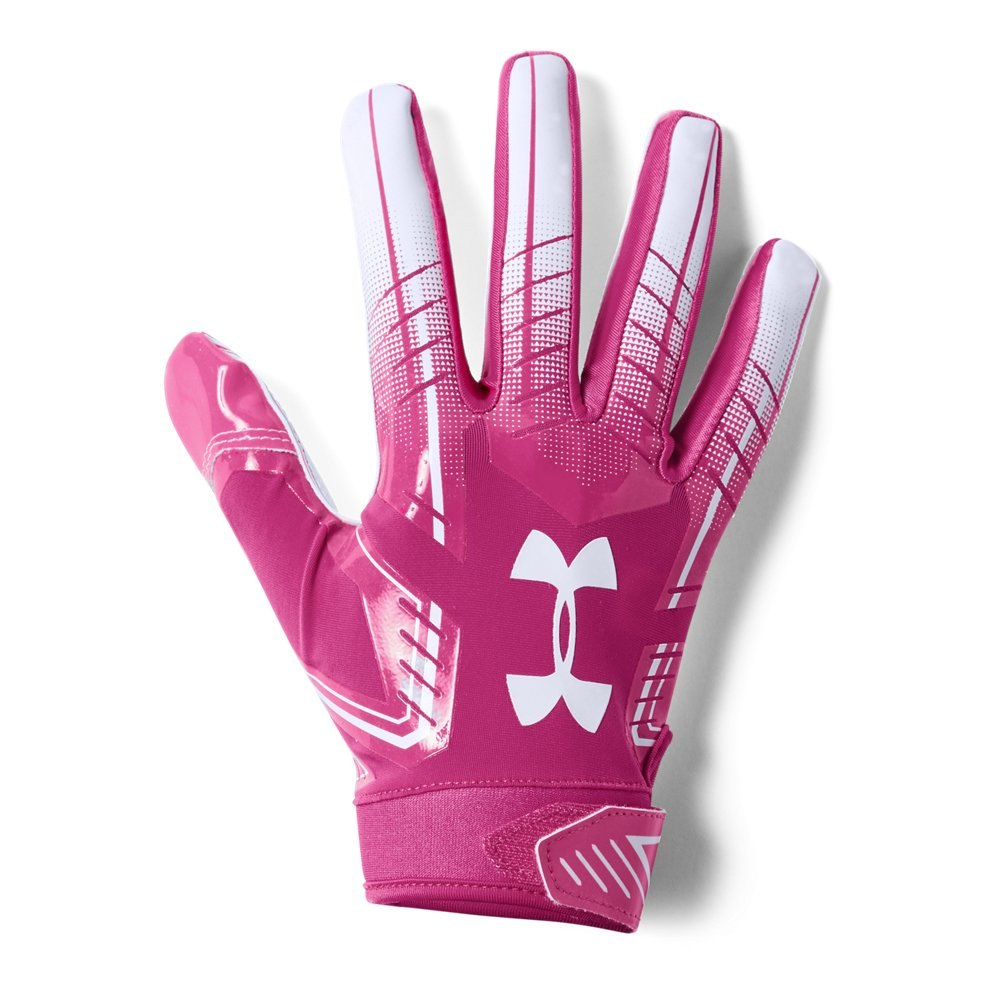 Men S Ua F6 Football Gloves Football Gloves Football Receiver Gloves Under Armour Men
