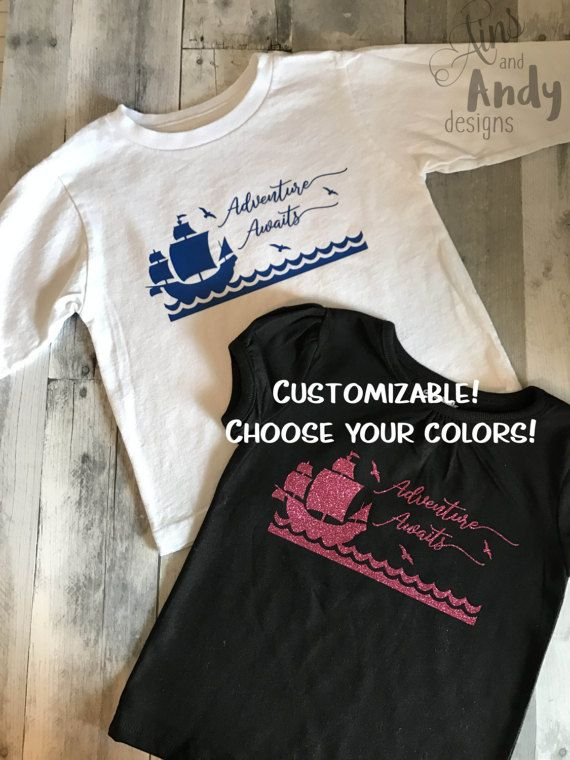 Creativity Whimsy Await Disney Cruise Line Guests Aboard: Adventure Awaits Pirate Shirt