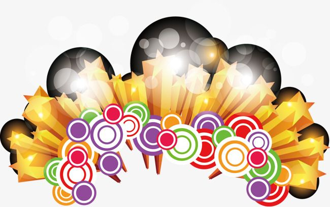 دوائر ملونة الأبعاد ديكور Decor Color Color Circle