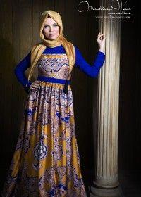 Summertime Muslima Wear Saten