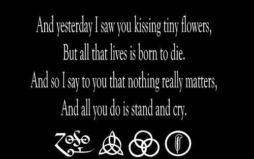 Led Zeppelin - That's The Way Lyrics   MetroLyrics