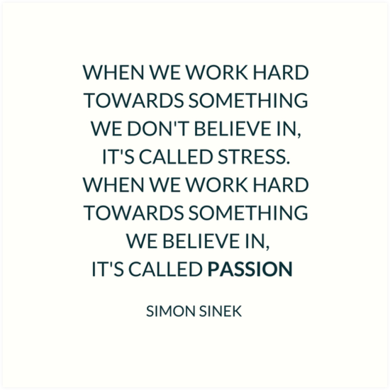 When We Work Hard Towards Something We Don T Believe In It S Called Stress When We Work Hard Towards Somethi Hard Quotes Hard Work Quotes Stress Quotes