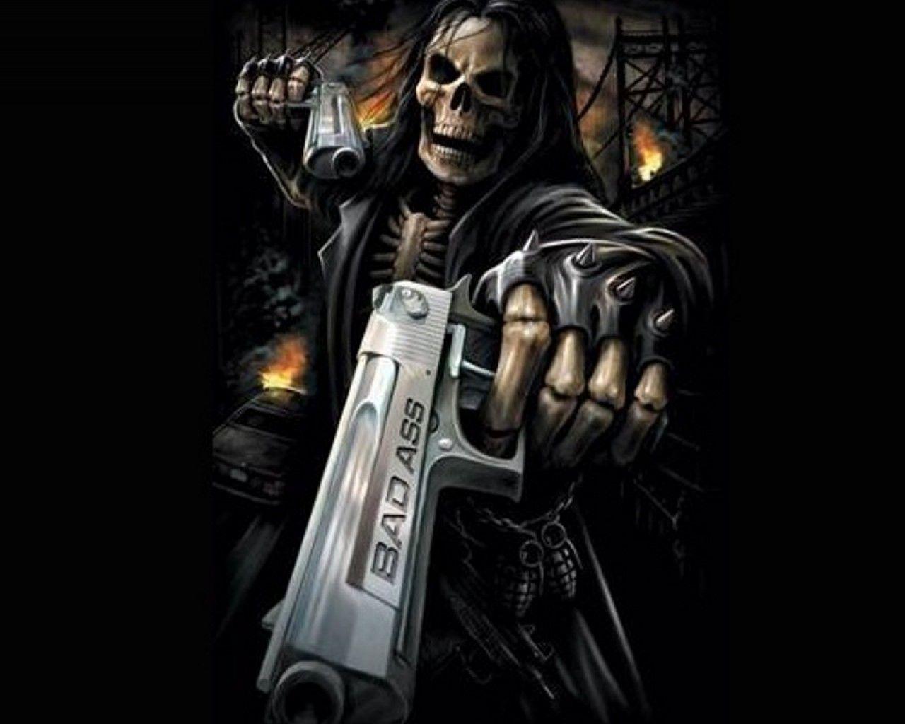 Dark Grim Reaper Wallpaper Panda 1600x1200px Wallpaper Reaper Pics Its Akucard Skull Art Skull Artwork Grim Reaper