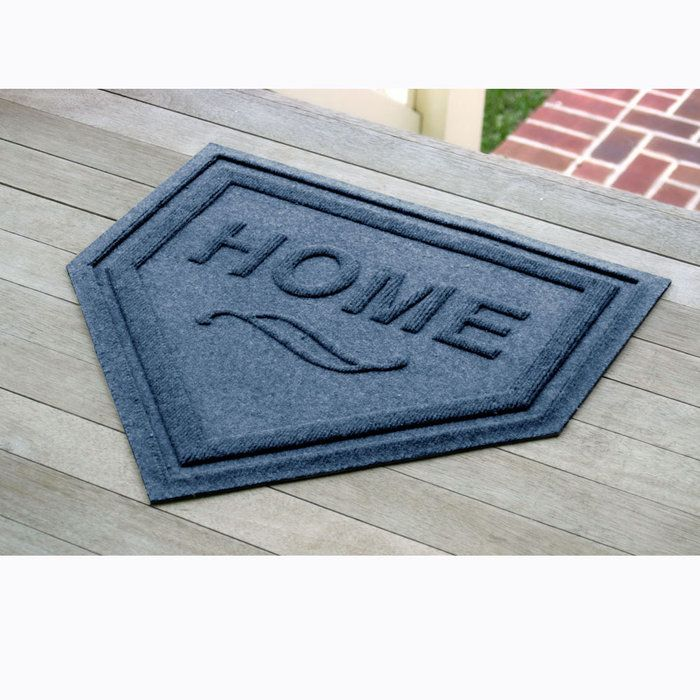 Home Plate Door Mat.