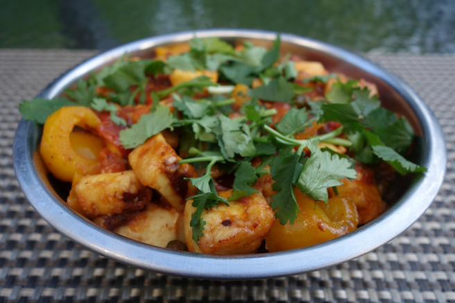 Quick and healthy chilli paneer