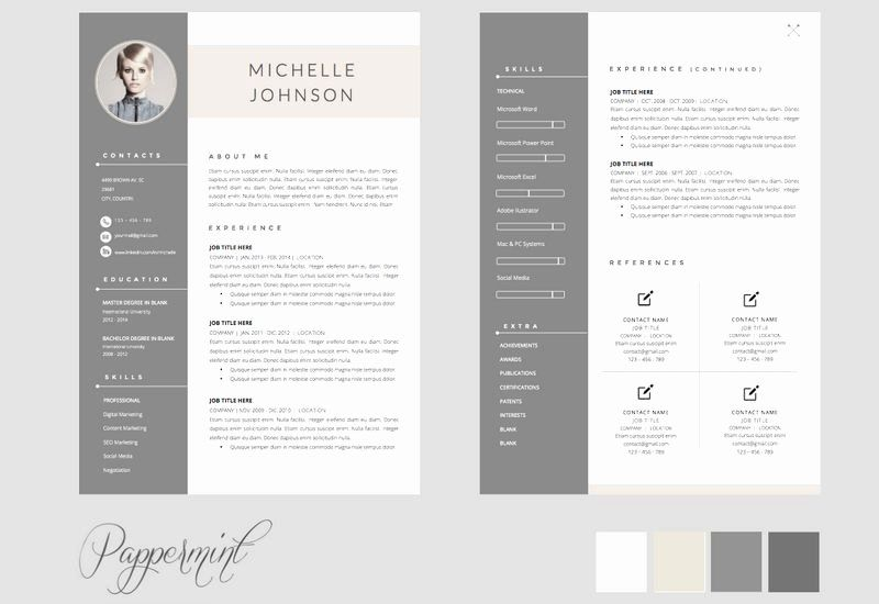 2 Page Resume Examples Unique 2 Page Cv Template Free Cvtemplate Template 2 Cv Template In 2020 Resume Template Word Cv Template Free Resume Template Free