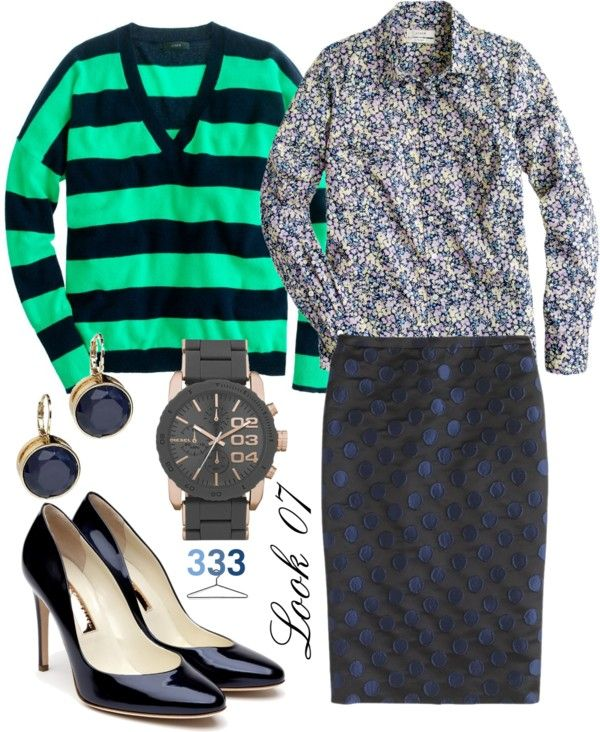 """""""Project 333/Phase7/Spring 2013- Look 07"""" by jcrewchick on Polyvore"""