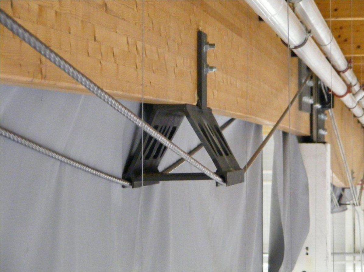 Tensado de vigas de madera factory timber structure - Vigas de maderas ...