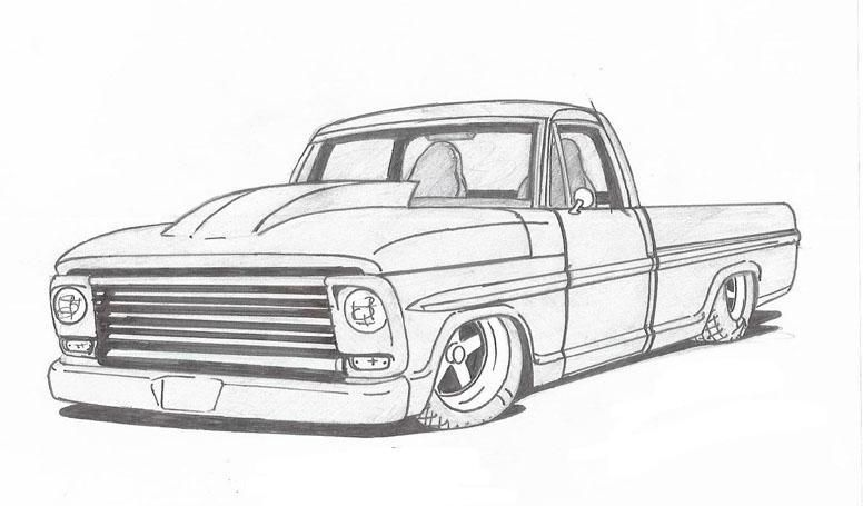 pin by ryan grantham on sketchbooks trucks