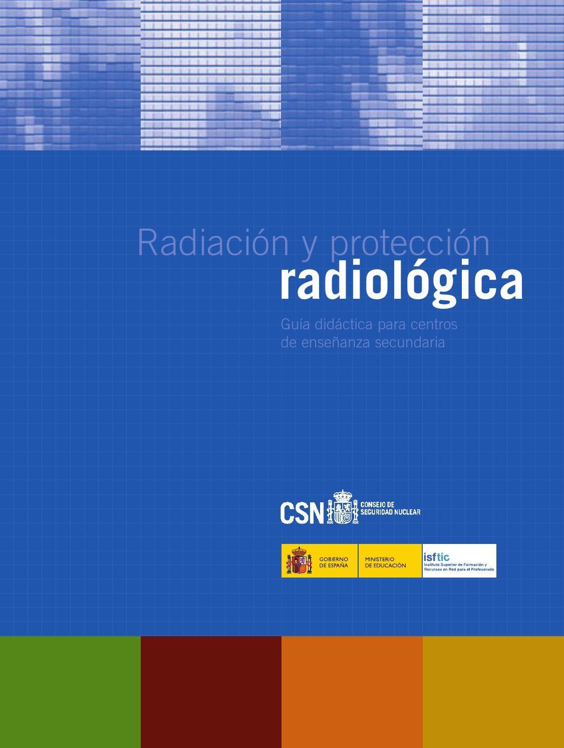 Guia radia web | Protecciones, Libros y Radiología