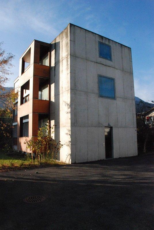 Mole west innen  Peter Märkli - Hohlstraße Apartments | a r k i - ú t i ...