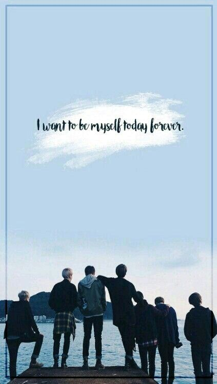 We Will Always Support You Forever Bts Quotes Bts Wallpaper