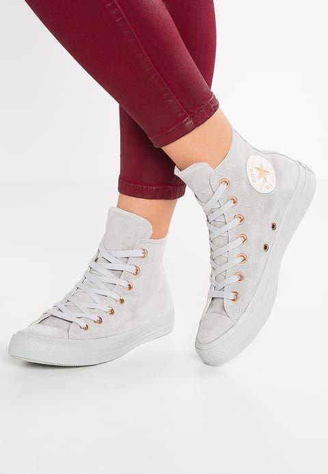 389bee4e6ce2 Converse CHUCK TAYLOR ALL STAR - PASTELS - Sneaker high - ash grey -  Zalando.de