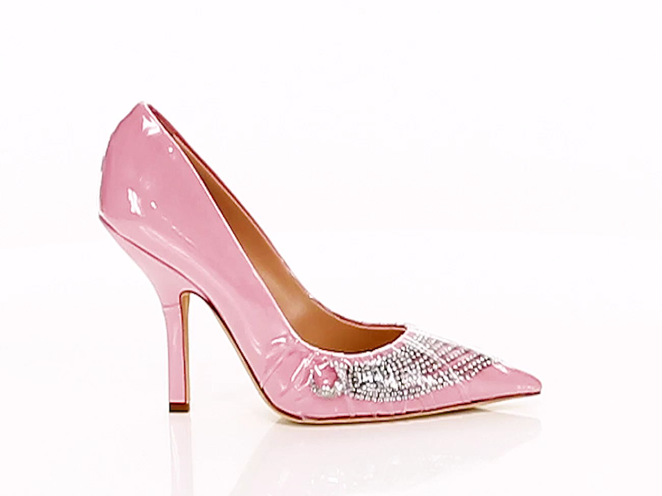 Iconic Crystal Embellished Cotton Pvc Pumps Midnight 00 Video Video Casual Shoes Women Heels Christian Louboutin Heels