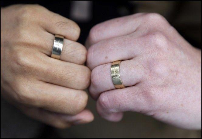 Gay Wedding Ring Right Hand