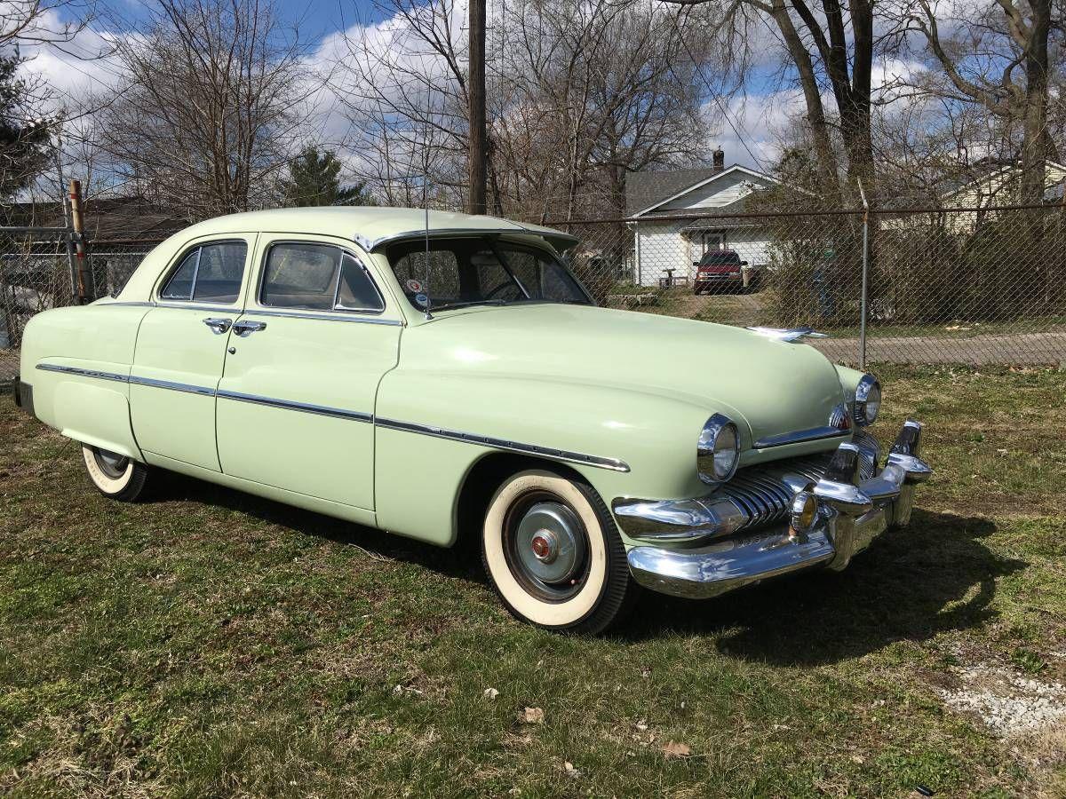 1951 Mercury 4 Door Mercury Cars Mercury Old Cars