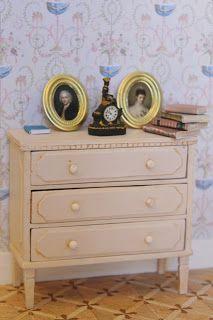 how to make mini dresser | mini furniture tutorials