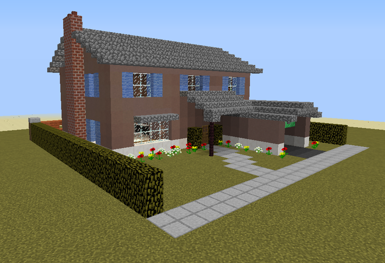 50 S Style House 6 Grabcraft Your Number One Source For Minecraft Buildings Minecraft Houses For Girls Minecraft Houses Blueprints Minecraft House Designs