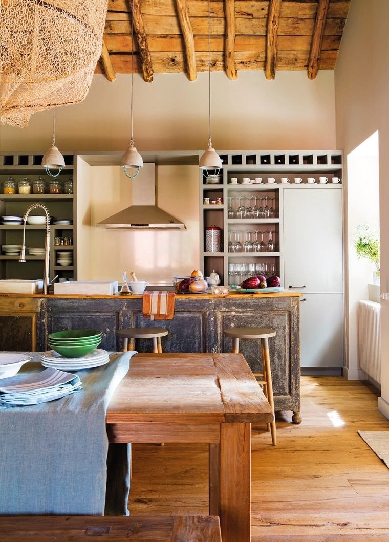 idee per arredare casa e una proposta per cucina rustica | Idee per ...