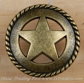 Drawer Pull With The Texas Lone Star With Rope Very Classy