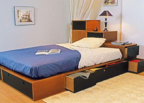 Conseils d co y 39 a du boulot salon chambre my style lit avec rangement int gr lit - Conseil deco chambre ...
