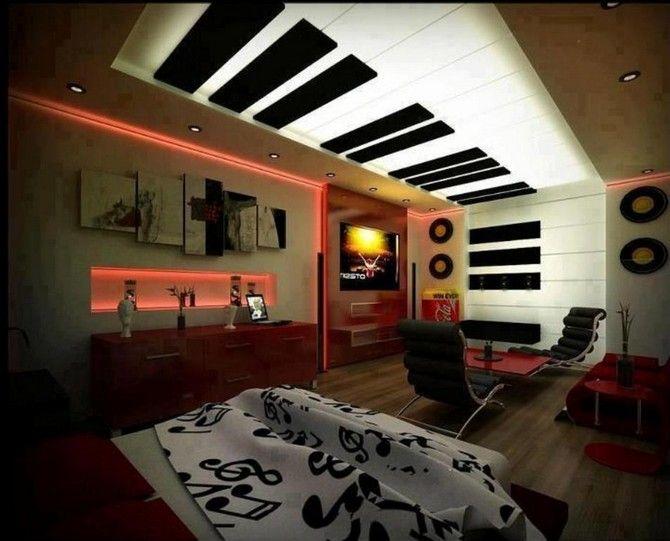10 Interesting Music Themed Bedrooms Music Bedroom Music