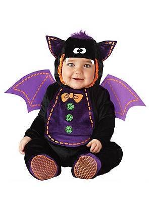 Trick or Treat Bat #halloween #costume #baby #toddler #kids #children