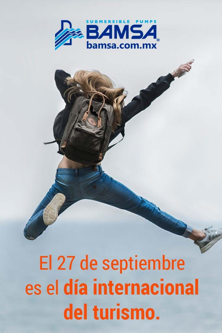 Día Internacional del Turismo.