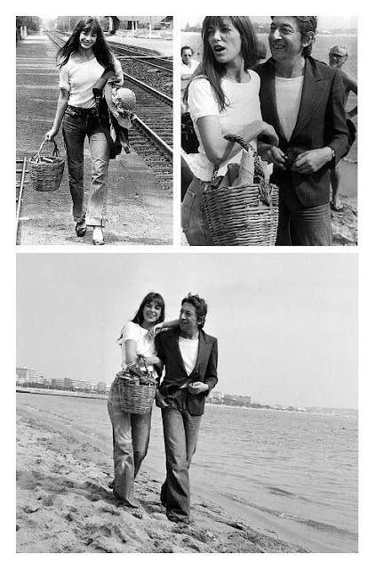 Jane Birkin and Serge Gainsbourg in Cannes, 1974 | Jane ...
