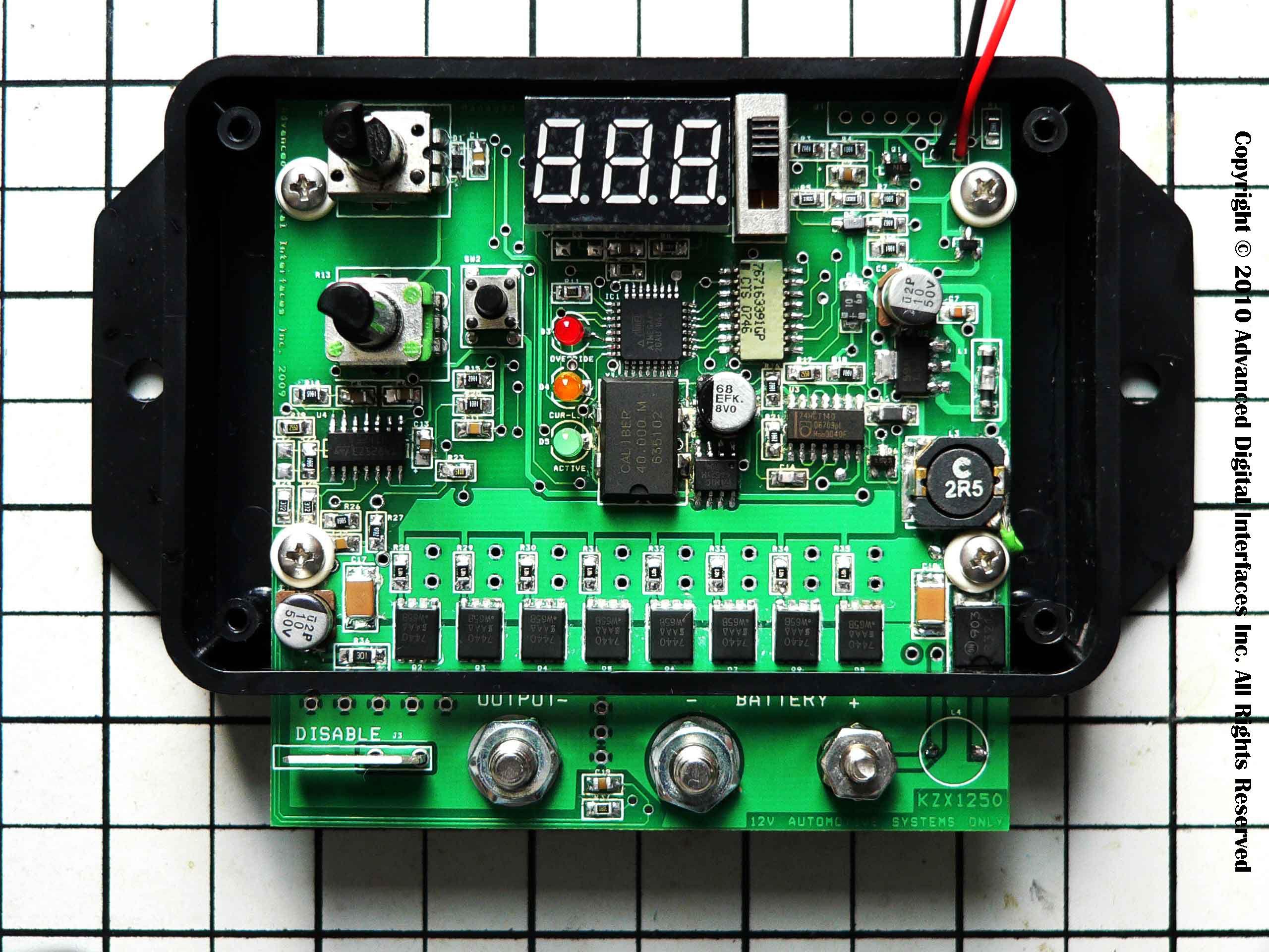 KZX1250 Intelligent Automotive PWM for HHO | KZX1250 Intelligent Automotive PWM For HHO