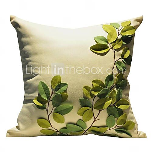 1-Piece Set almohada decorativa en algodón / lino con relleno (18 * 18 pulgadas)