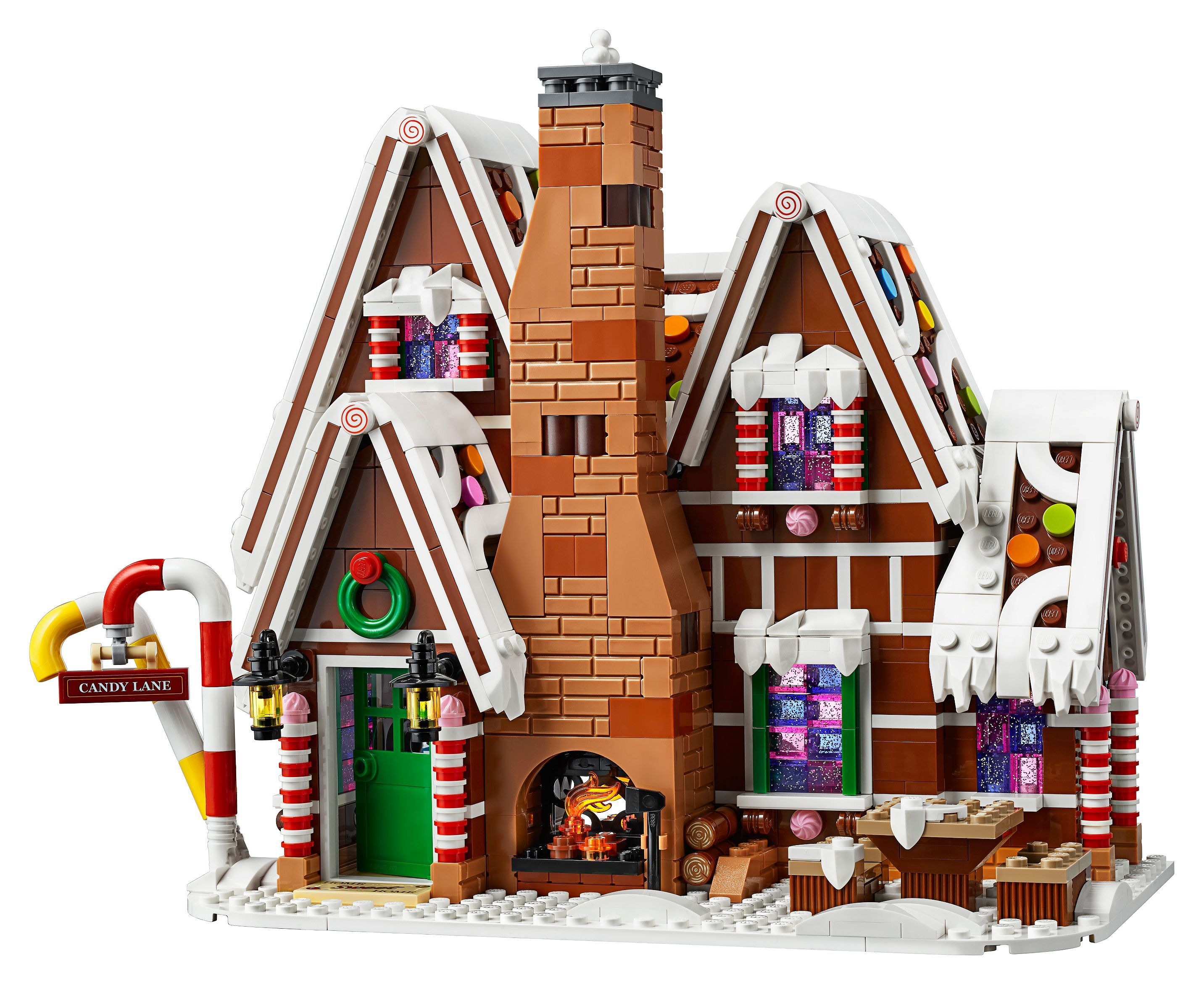 Gingerbread House 10267 Creator Expert Buy Online At The Official Lego Shop Ca In 2020 Lego Gingerbread House Gingerbread House Lego Christmas