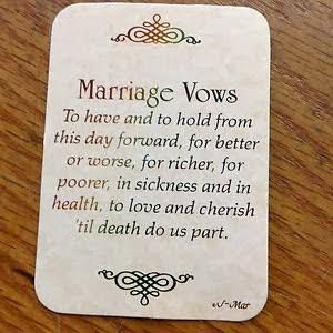 Catholic Marriage Vows Google Search