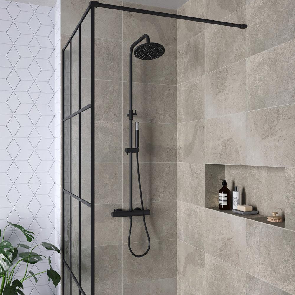 Zwart en industrieel; dé badkamer trends van 2019 #badkamerinspiratie