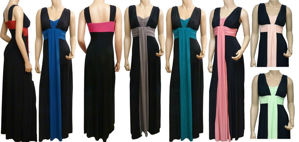 Maxi dresses uk size 8