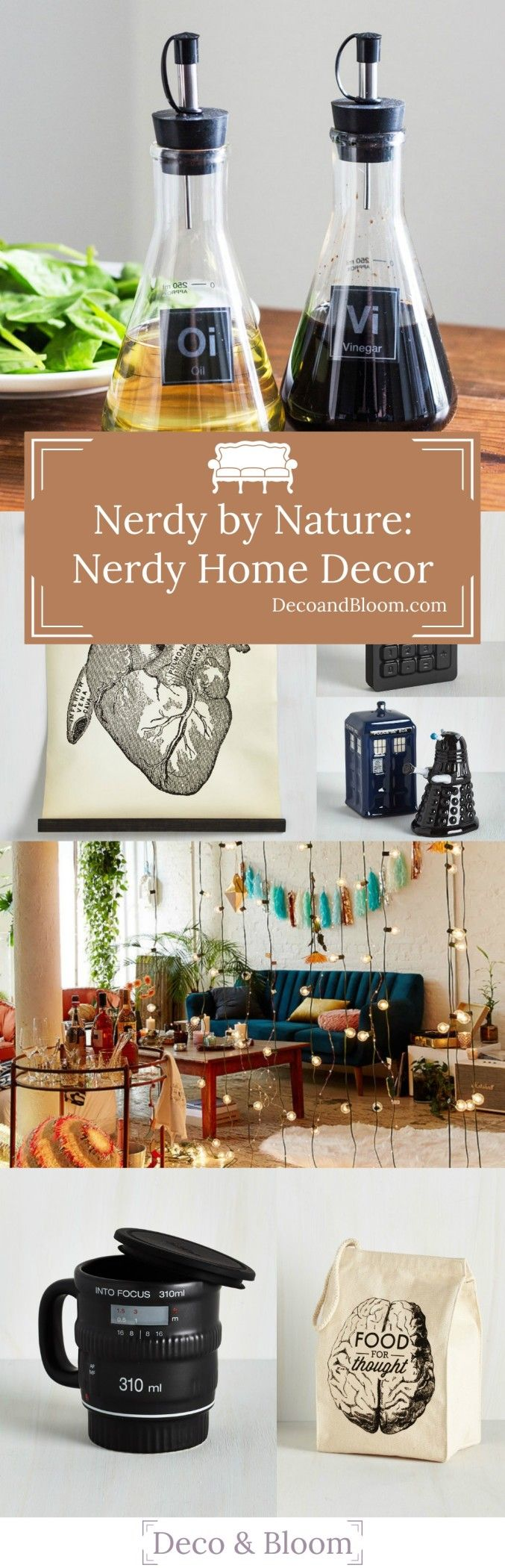 Lovely Nerdy By Nature: Nerdy Home Decor From The Home Decor Discovery Community  Of Www.DecoandBloom.com