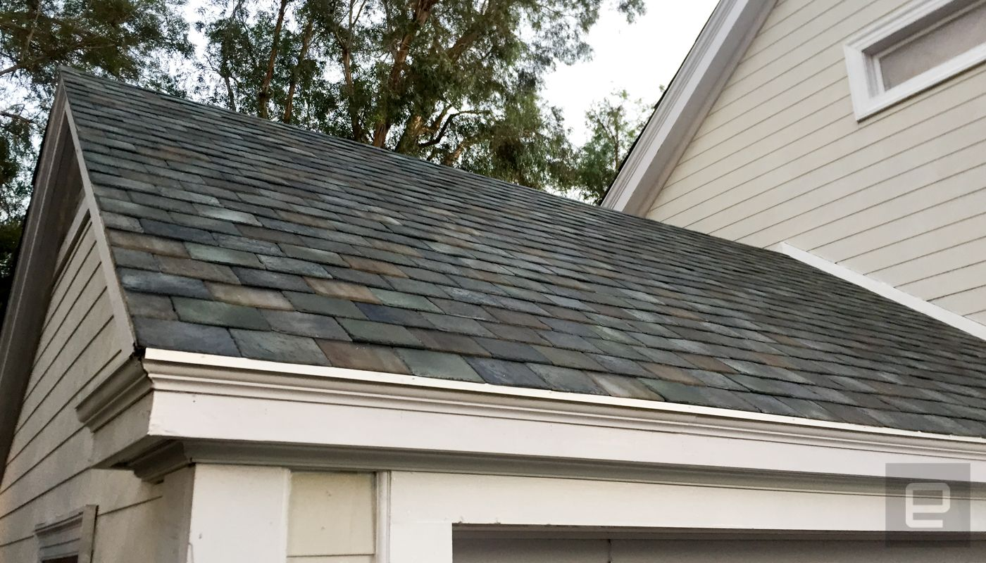 Tesla Has Just Unveiled Its New Line Of Solar Roof Top Panels And An Upgraded Version Of Their Powerwall 2 High Capa Solar Roof Solar Roof Tiles Solar Shingles