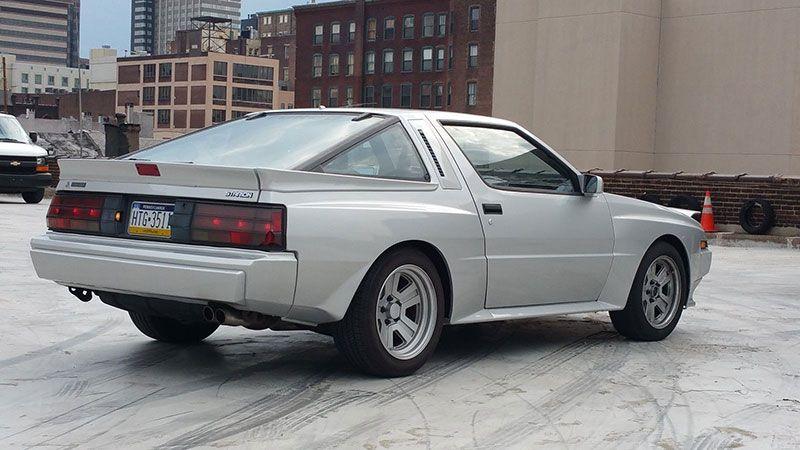 Forgotten 80s Classic: Mitsubishi Starion (Chrysler ...